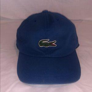 Blue Lacoste Hat Baseball Cap
